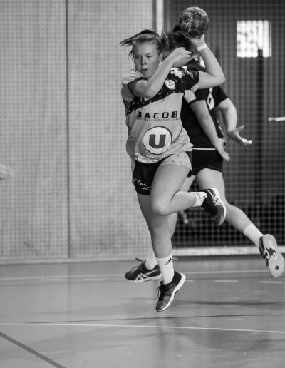 extension fille match handball